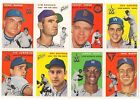 1994 Topps Archives 1954 GOLD Parallel Single Cards 15 Available 54 Reprint Foil
