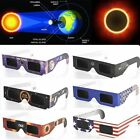 Solar Eclipse Glasses 2017 Galaxy Edition CE and ISO Standard Viewing 1/2/10Pack