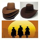 Kid Adult Size Classic Western Cowboy Hat Cattleman Unisex Costume for Party New