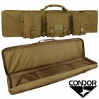 "Condor 128 42"" Nylon Soft Shell External Pocket Magazine Pouch Padded Rifle CaseCases - 73938"