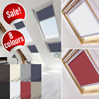BLACKOUT ROLLER ROOF BLINDS FOR ROOFLITE WINDOWS - ALL CODES - FREE SHIPPING