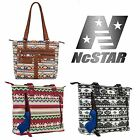 NcSTAR BWJ Womens Concealed Carry CCW Pistol Holster Canvas Satchel Bag Purse