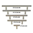 """2"""" 5"""" 6"""" 7"""" 8"""" SOLID STAINLESS STEEL T-BAR Kitchen Cabinet Hardware Pulls"""