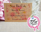 Personalised Vintage Wedding Save the Date Cards with Envelopes