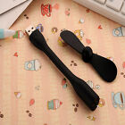 Portable Flexible USB Mini Fan For All Power Supply USB Output PC Power Bank