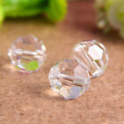 100pcs 32 faceted type Clear Glass Chandelier Crystal Lamp Round Bead Earth Bead