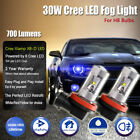 2x Cree 30w H11 H8 Led Car Part Fog Lights Driving Daytime Running Lights Lamps