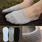 LOT 240 Men/Women Cotton Invisible Loafer Boat Non-Slip Low Cut No Show Socks AS