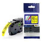 1-20 x 12mm TZE S631, TZ S631 tape black/yellow for BROTHER P-TOUCH printers