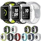 Silicone Sports Replacement Bracelet Strap For Apple Watch Band Nike+ Series 2/1
