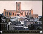 Vintage LMS Liverpool Cathedral Railway Poster A3 / A2  Reprint