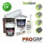 GRP Fibreglass Flat Roofing Kit For Porch Roofs Multiple Sizes Available