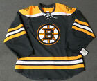 New Boston Bruins Authentic Team Issued Reebok Edge 20 Blank Hockey Jersey NHL