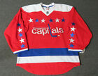 New Washington Capitals Third Red Authentic Team Issued Reebok 20 Hockey Jersey