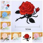 Rose Flower Embroidery Iron On Applique Patch 2016 Hot US