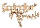 Wooden Branch Shape Godmother Family Tree Christening Branch Godmother