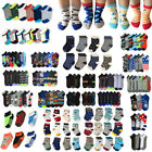 Newborn Baby Toddler Boy Mixed designs Assorted Colors Ankle Socks Wholesale Lot