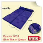 SELF INFLATING CAMPING MATTRESS MAT AIR BED WITH PILLOW JOINABLE THICKNESS 4CM