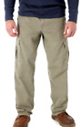 Mens Wrangler RipStop Cargo Pants Khaki Relaxed Fit Tech Pocket ALL SIZES 34-48