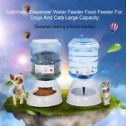 Automatic Dispenser Water Feeder Food Feeder For Dogs And Cats Large Capacity SM