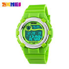 SKMEI LED Digital Watches For Boys&Girls Alarm Stopwatch Waterproof Kids Watches