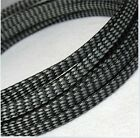 Color Expandable Braided DENSE PET Sleeving Cable  High Densely Audio Diy #FR CY