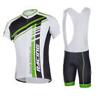 Cycling Jersey Uniforms Men's Shorts Gel Padded Bike Clothing Breathable M-3XL