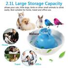 2.1L Pets Ceramic Watter Fountain for Dogs Cats Healthy Drinking Bowl ES88