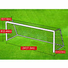 Portable 24' x 8'- 12'x7' Official Size Soccer goal Net Football Training