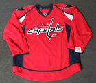 New Washington Capitals Red Authentic Team Issued Reebok Edge 20 Hockey Jersey