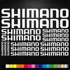 Shimano Vinyl Decals Stickers Sheet Bike Frame Cycle Cycling Bicycle Mtb Road