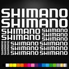 Compatible Shimano Vinyl Decals Stickers Sheet Bike Frame Cycle Cycling Bicycle