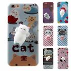 Squishy 3D Soft Silicone Cat Panda TPU Phone Case Cover for iPhone 6/6S/7/7Plus