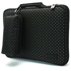 """7"""" - 15.6"""" Memory Foam Women Laptop Carrying Case Sleeve Protection Bag Crystal"""
