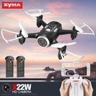 Syma X22W 2.4G RC Quadcopter Headless Drone with HD Camera WIFI FPV Actual Time