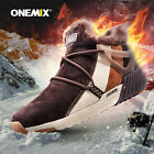 Onemix Men Ankle Boots Outdoor Hiking Shoes Athletic Trekking Boot Winter shoes