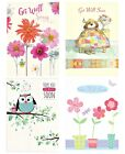 Get Well Soon Greeting Cards - Speedy Recovery, Back on you Feet, Feeling Better