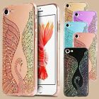 Swan Luxury Bling Glitter Shockproof Silicone Case Cover For iPhone 7 6 6s Plus