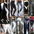 Women Sport Yoga Gym Fitness Pants Leggings Athletic Workout Skinny Trousers Lot