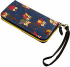 New Woman Ladies Owl Long Purse Wallet Coin Credit Cards Holder