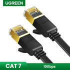 UGREEN Cat7 Ethernet Cable RJ45 Flat Network Lan Cable Patch Cord for PC Router