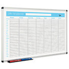 Printed Planner Whiteboard - 24 Hour / 7 Day