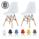Stylish Plastic Dining Chairs Eames inspired Eiffel Retro Lounge Dining Office