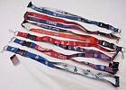 """MLB Reversible Lanyard Keychain 23"""" Long 3/4"""" Wide by Aminco Select Team Below"""