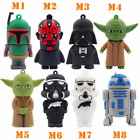 Cartoon Star wars model USB 3.0 2.0 flash drive Memory stick Pen drive u disk $6.8 USD
