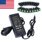 12V 6A 72W Power Supply AC to DC Adapter for 3528 5050 LED Strip Light / CCTV US