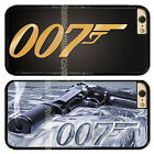 JAMES BOND 007 GUN BACK PC Hard TPU Rubber PHONE CASE COVER FOR IPHONE SAMSUNG $11.9 CAD on eBay