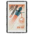 """Star Trek TOS """"Ep 32 - The Changeling"""" Dye Sublimation Blanket/Throw"""