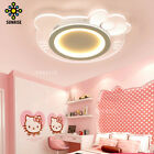 Cartoon Hello Kitty Ceiling Light Acryl LED Cosy Indoor Children Bedroom Lamp AU