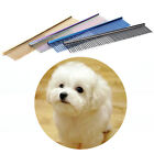 Pet Comb Professional StainlessSteel Dog Cat Grooming Cleaning BrushMulticolorAB